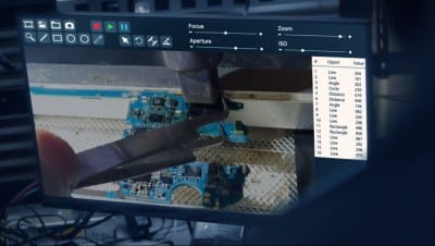 screenshot from FBI TV series showing FlashFixers' data recovery clip
