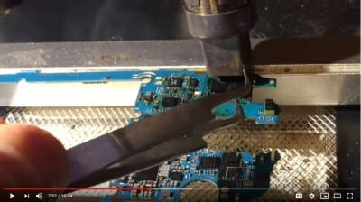 Screenshot from FlashFixers' data recovery video