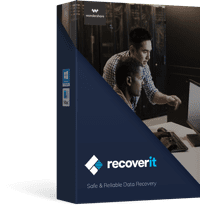 recoverit for Mac software box photo